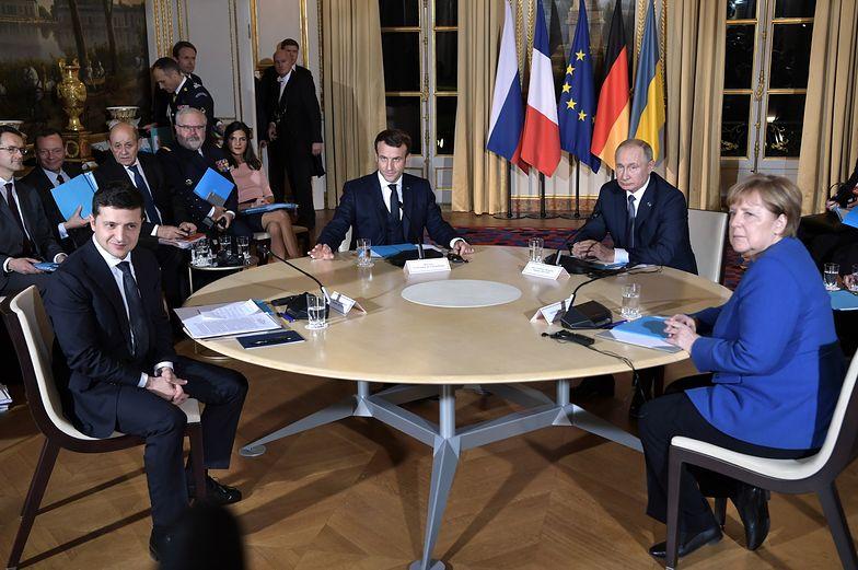 """Zakończył się szczyt ws. konfliktu na Ukrainie. Co ustaliła """"czwórka normandzka""""?"""