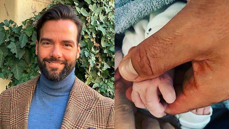 Conrado Moreno został ojcem! Znamy płeć i imię dziecka