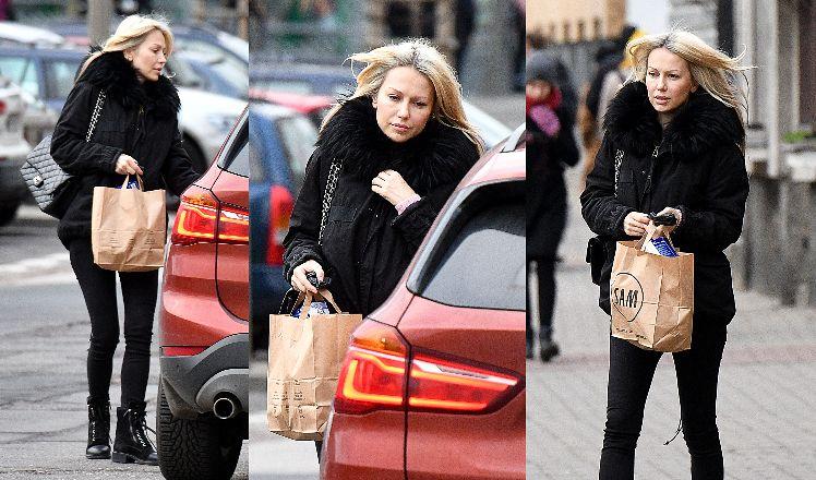 Magda Ogórek pędzi na zakupy do ulubionego sklepu, nie bacząc na przepisy