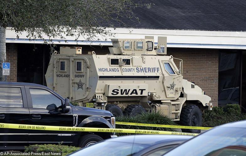 Floryda. Krwawy napad na bank. 5 osób nie żyje
