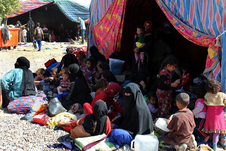 W obozie w Kirkuku przebywa 3 tys. uchodźców