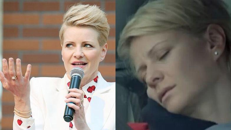 """Małgorzata Kożuchowska swego czasu grała Hankę Mostowiak w serialu """"M jak miłość""""."""