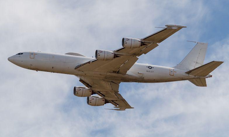 Boeing E-6 Mercury miał przetrwać wojnę jądrową, przegrał z ptakiem.