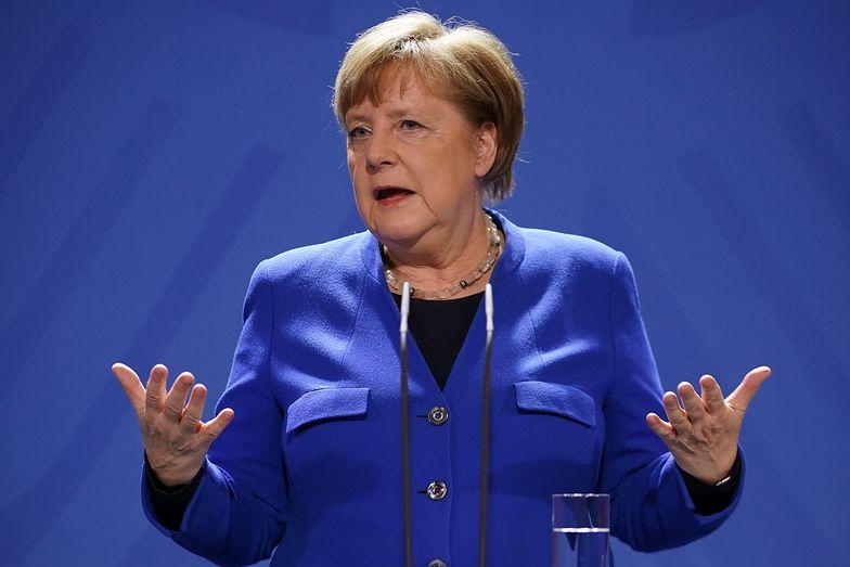 Kanclerz Angela Merkel. Do wiadomości publicznej podano wynik drugiego testu na koronawirusa.