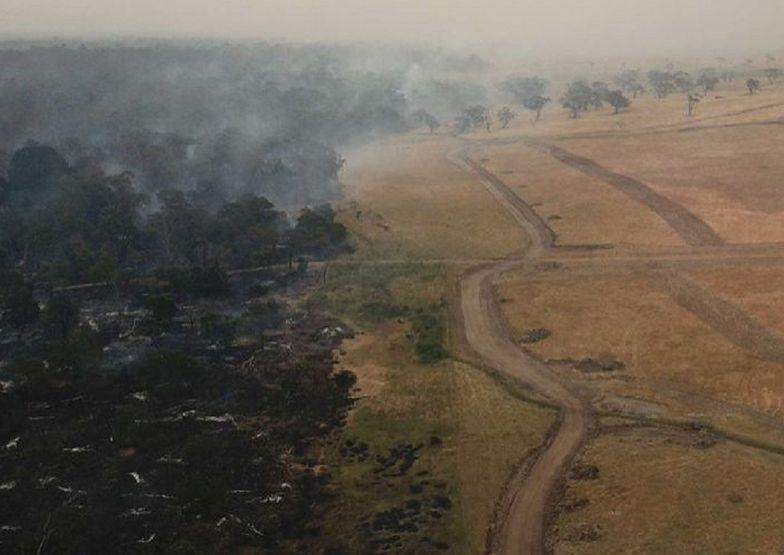 Pożary w Australii. Ogień odsłonił pradawne konstrukcje. Są starsze od piramid