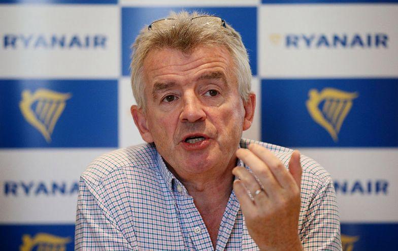 Prezes Ryanaira w ogniu krytyki. Zarzucają mu rasizm