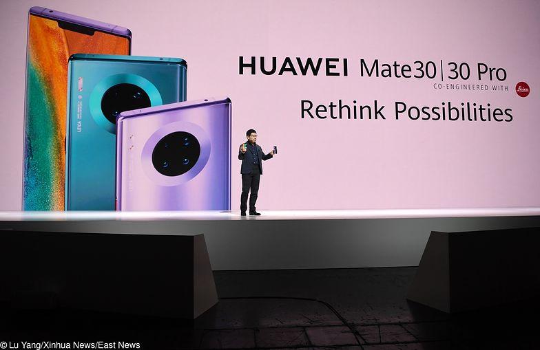 Huawei Mate 30 Pro bez aplikacji Google. Gigant potwierdził to podczas czwartkowej prezentacji w Monachium