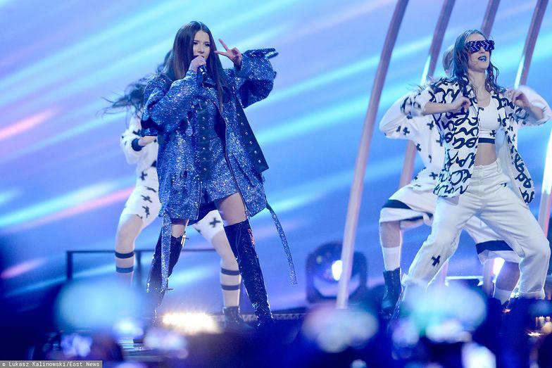 """Eurowizja 2019. Roksana Węgiel odebrała platynową płytę za singiel """"Anyone I want to be"""""""