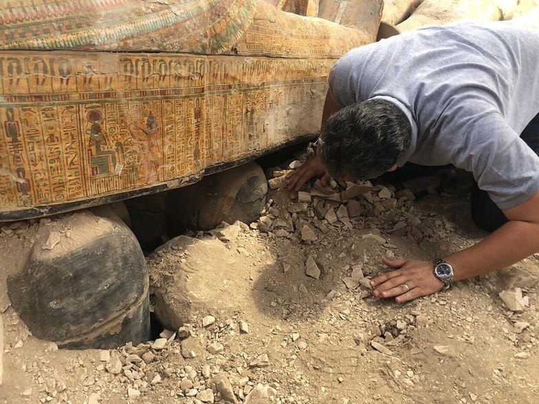 egipt trumny mumie