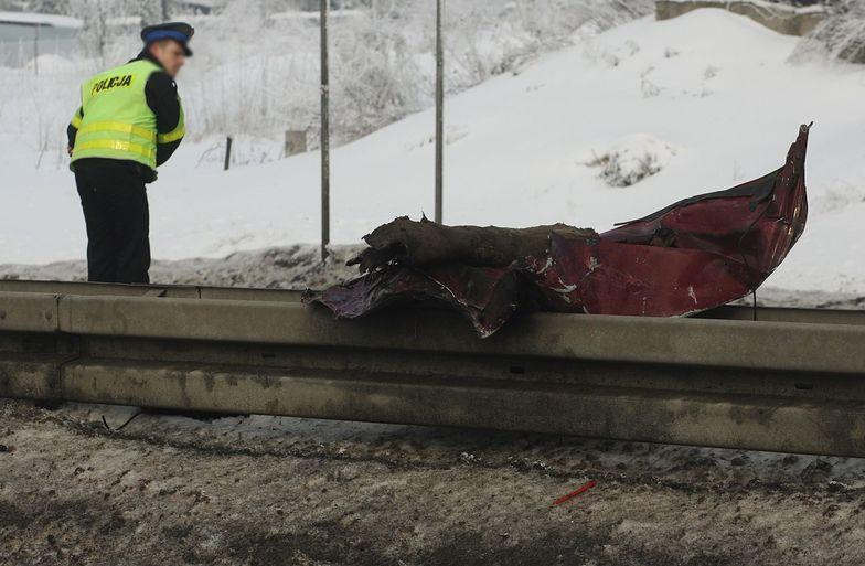 Tragedia na S7. Jechał autem pod prąd