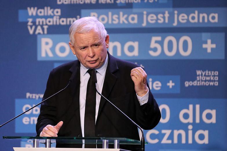 Jarosław Kaczyński zaznaczył, że od czasów istnienia PZPR minęło już prawie 30 lat