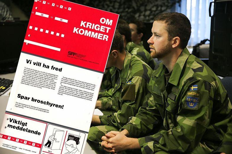 Szwedzi szykują się do wojny. Wydali instrukcje dla obywateli