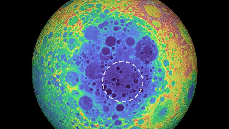 Tajemnicze znalezisko na Księżycu. Jest pięć razy większe od Hawajów