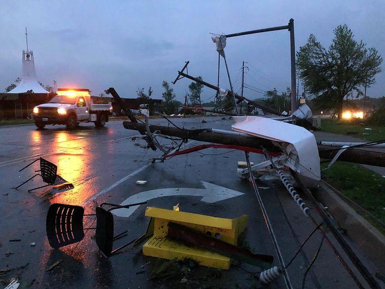 Potężne tornado uderzyło w USA. Są ofiary