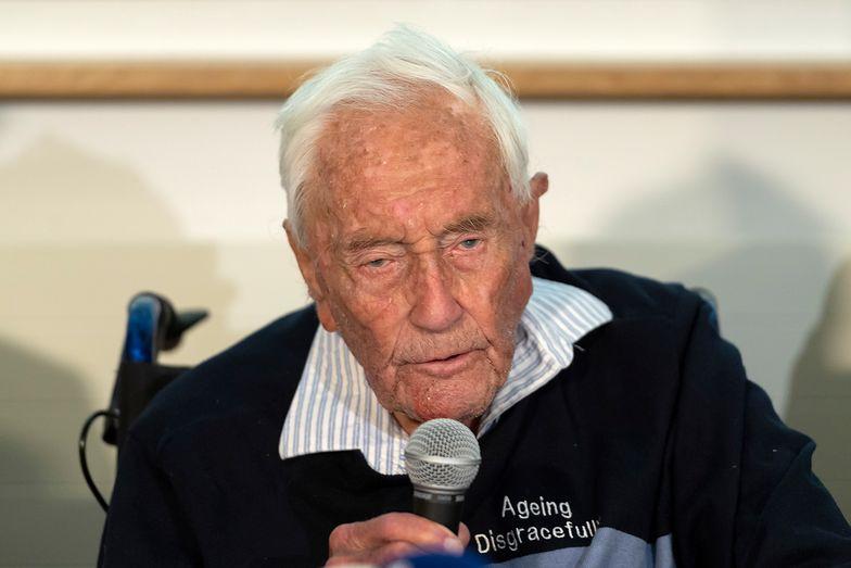 David Goodall przeżył 104 lata i postanowił umrzeć. Naukowiec poddał się eutanazji w Szwajcarii