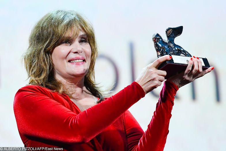 Nagrodę w imieniu Romana Polańskiego odebrała jego żona Emmanuelle Seigner