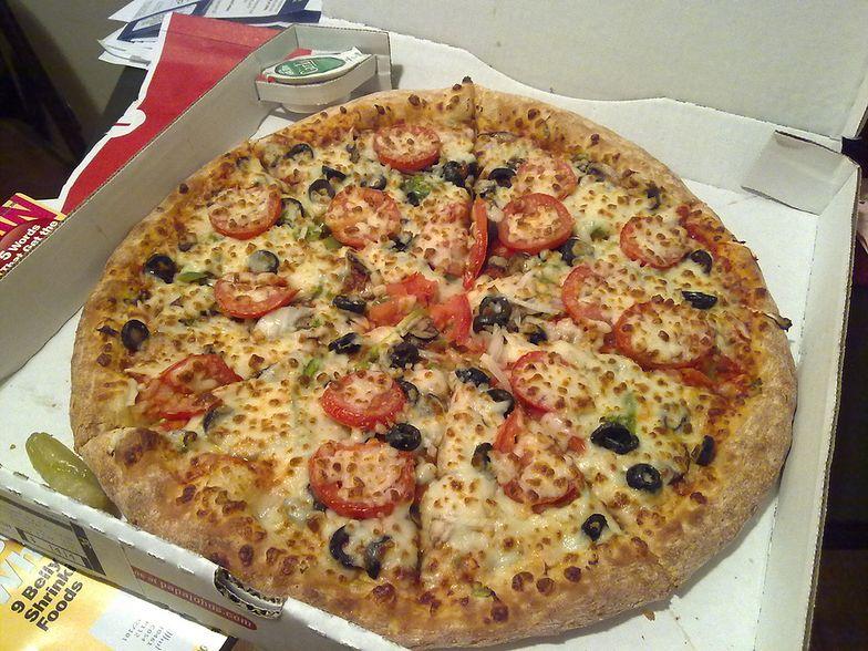 Tak prezentuje się jedna z pozycji w menu Papa John's Pizza