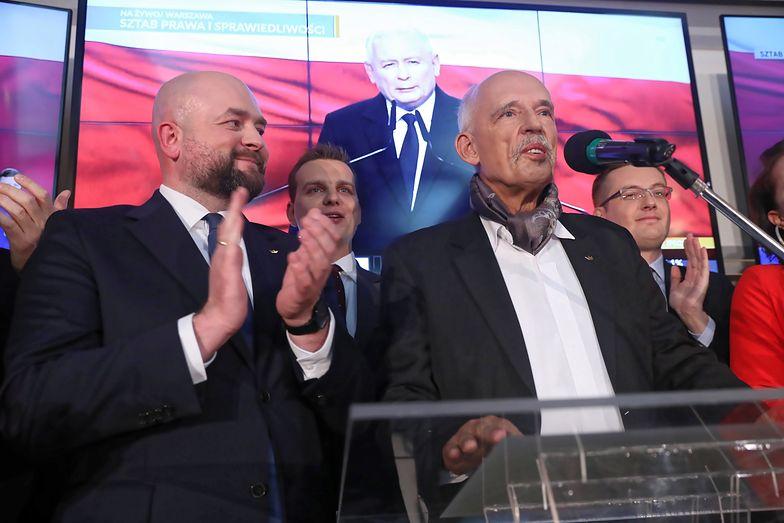 Wybory 2019. Janusz Korwin-Mikke może zostać marszałkiem seniorem