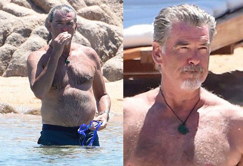 Pierce Brosnan z żoną na Sardynii