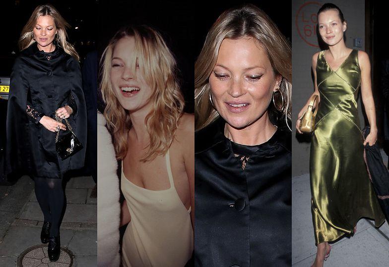 Kate Moss świętowała 44 urodziny w londyńskiej restauracji Mayfair