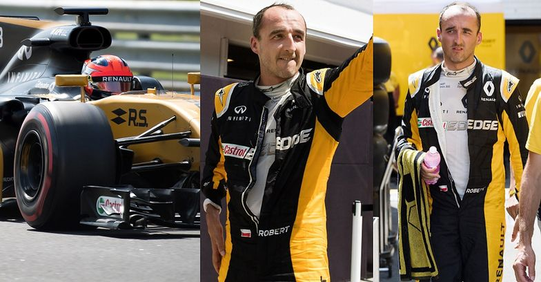 Robert Kubica testuje bolid Renault
