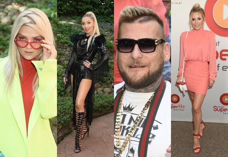 Gwiazdy na konferencji prasowej Polsat Superhit Festival