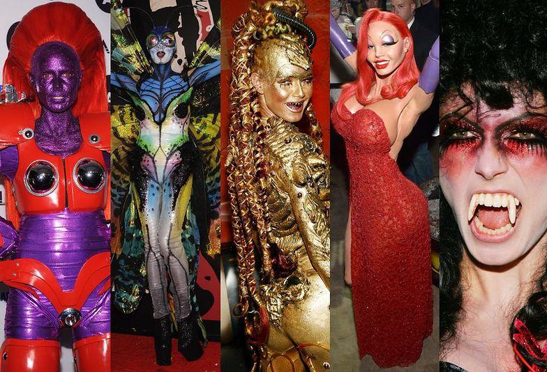 Halloweenowe kostiumy Heidi Klum