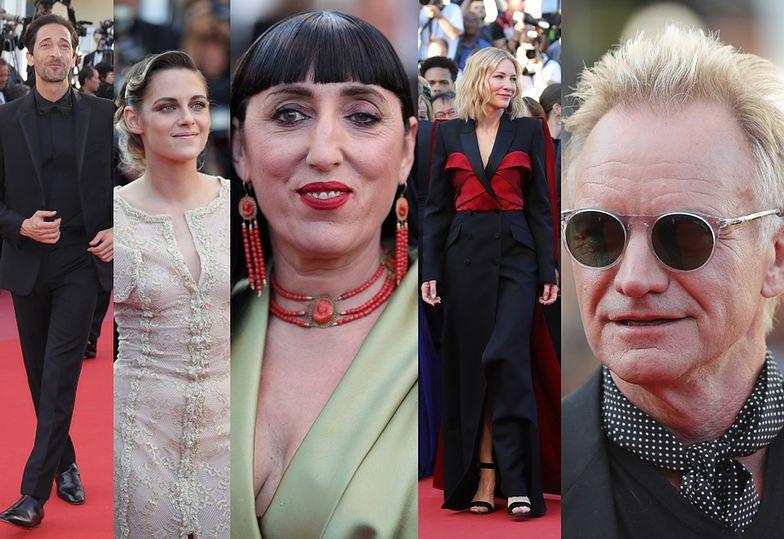 Gwiazdy na zamknięciu Festiwalu w Cannes