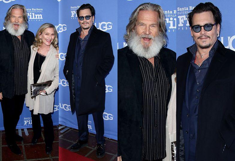 Tak wyglądają dzisiaj Johnny Depp i Jeff Bridges