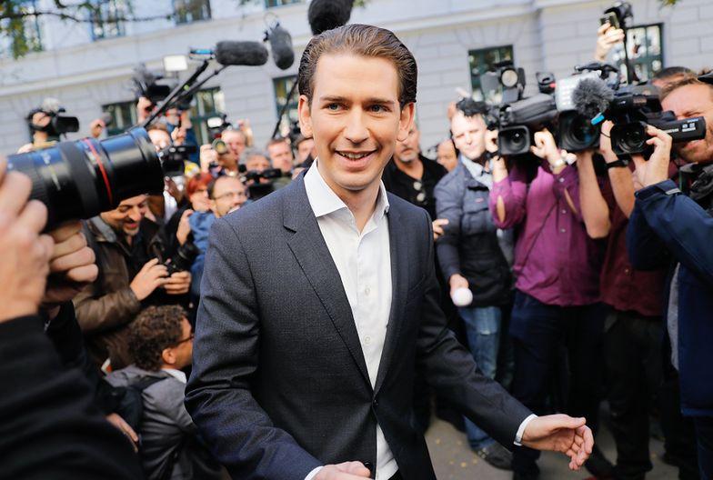 Sebastian Kurz ma 31 lat i  wychował się w robotniczej dzielnicy Wiednia