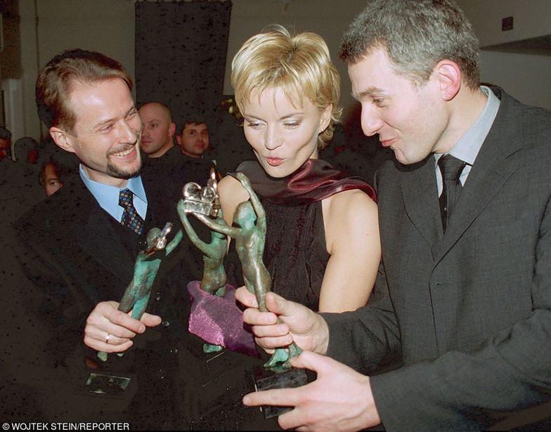 Telekamery 2001 - Artur Żmijewski, Małgorzata Foremniak, Hubert Urbański