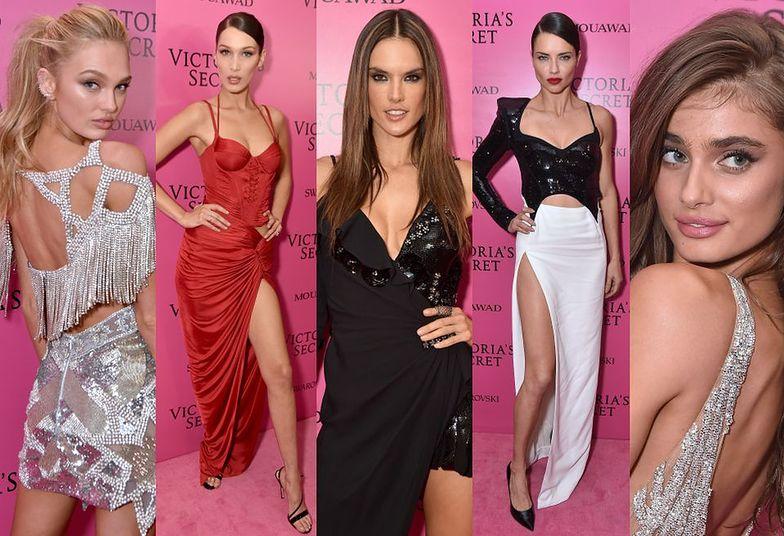 Modelki Victoria's Secret na imprezie po pokazie w Szanghaju