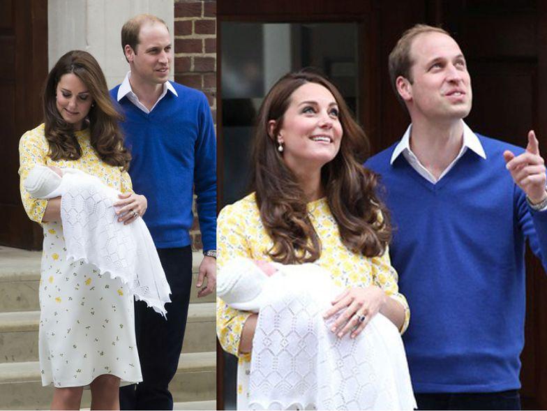 Kate Middleton godzinę po urodzeniu córki, 2 maja