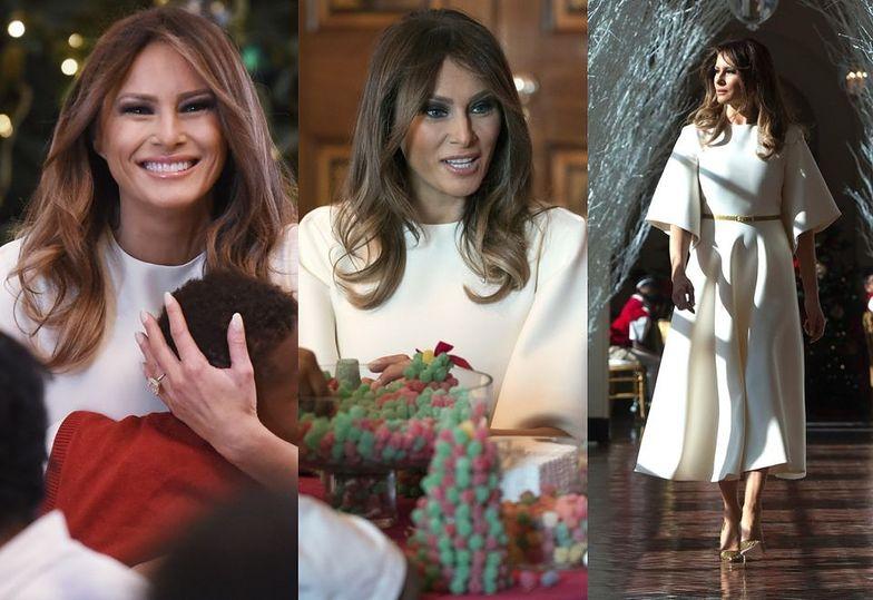 Melania Trump udekorowała Biały Dom na święta