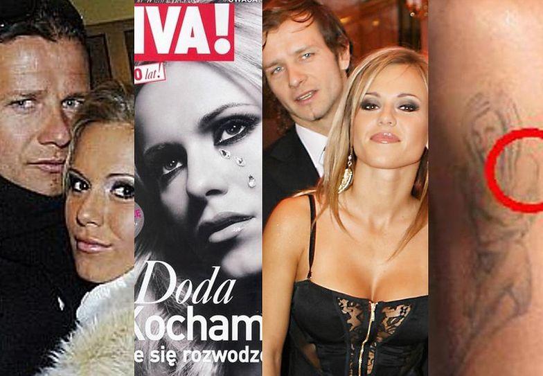 10 lat temu Doda rozwiodła się z Majdanem...