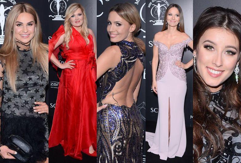 Celebrytki na gali Miss Polski 2017