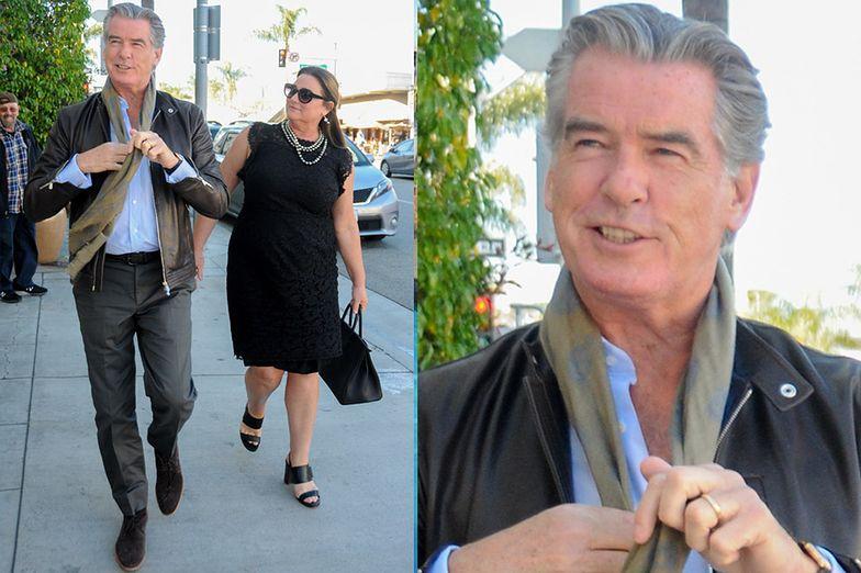 63-letni Brosnan idzie na randkę z żoną