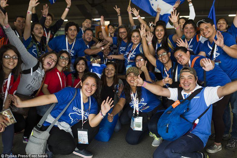 Tłumy pielgrzymów w Krakowie na Światowych Dniach Młodzieży