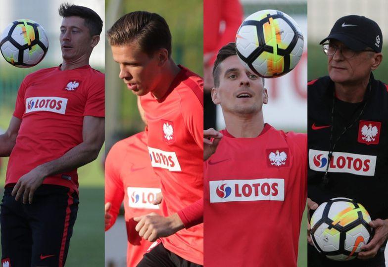 Oficjalny trening reprezentacji Polski przed meczem z Danią