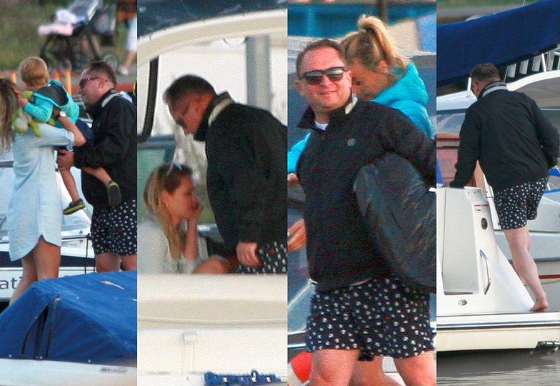 Kamil Durczok zabrał dziewczynę nad morze