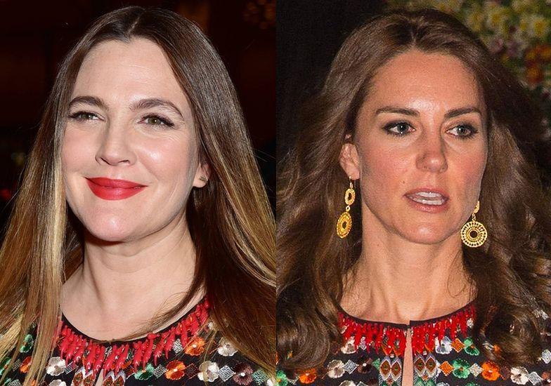 Kate Middleton czy Drew Barrymore?
