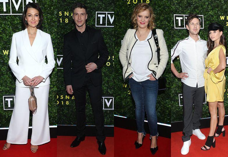 Gwiazdy TVP na premierze wiosennej ramówki