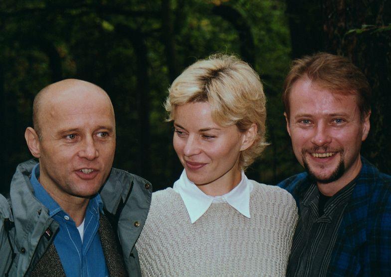 Krzysztof Pieczyński, Małgorzata Foremniak i Artur Żmijewski