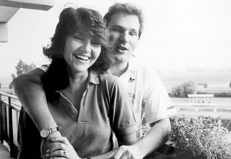 Z mężem Aleksandrem, 1988