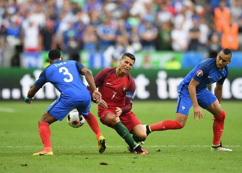 Cristiano Ronaldu w finale Euro 2016