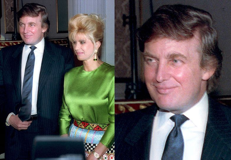 Donald Trump i Ivana Trump - małżeństwo od 1977 do 1992