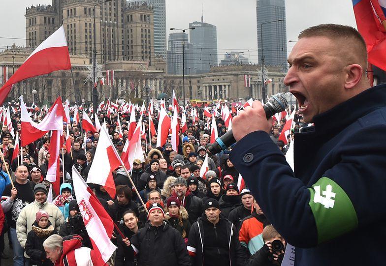 Tak wyglądał Marsz Niepodległości w Warszawie