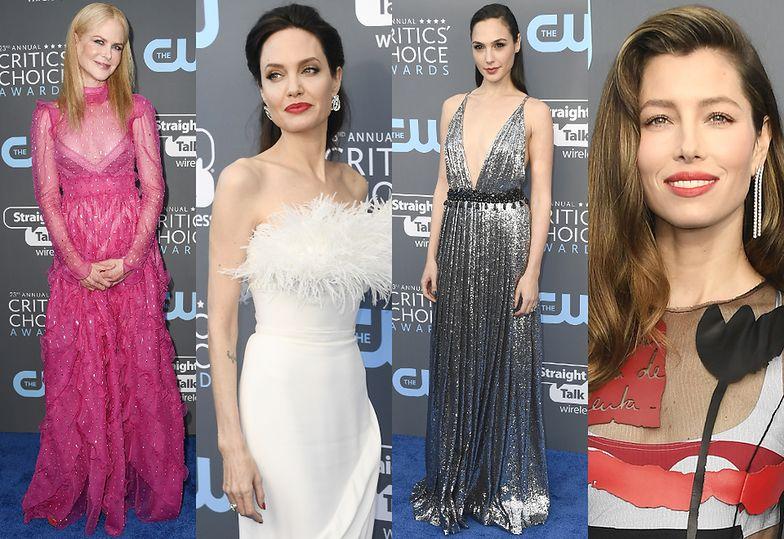 Nicole Kidman, Angelina Jolie, Gal Gadot i Jessica Biel