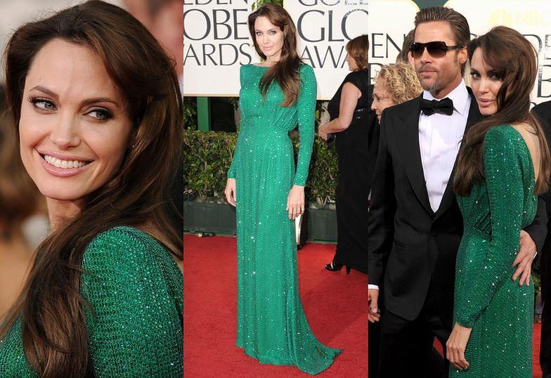 Angelina Jolie w Atelier Versace (2011)