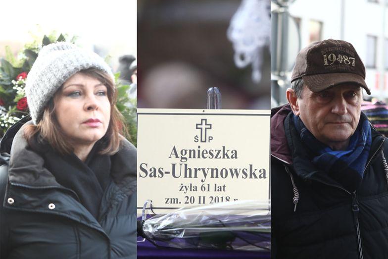 Trojanowska, Wysocki, Dziurman i inni na pogrzebie Agnieszki Kotulanki